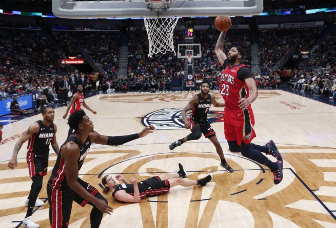 Anthony Davis (23), New Orleans Pelicans (NBA, USA) (Foto: SITA/AP)