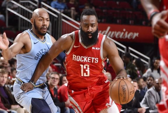 HOU Rockets vs. MEM Grizzlies, James Harden (13) (Foto: nba.com)