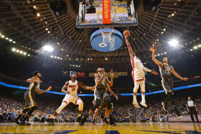 Golden State Warriors vs. Miami Heat (Foto: nba.com)