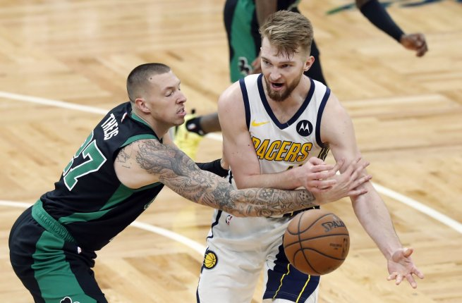Domantas Sabonis (11), Boston Celtics (NBA, USA) (Foto: SITA/AP)