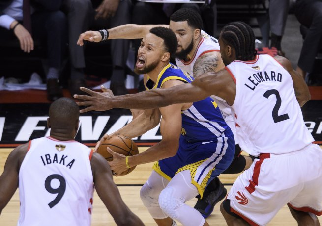 Toronto Raptors vs. Golden State Warriors, Steph Currry (30) (Foto: SITA/AP)