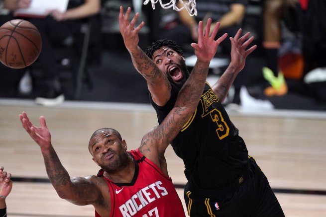 NBA: Lakers vs. Rockets (Foto: TASR/AP)